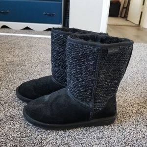 """Black """"ugg"""" style boots"""